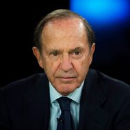 "Mortimer ""Mort"" Zuckerman, chairman and chief executive officer of Boston Properties Inc., pauses before a Bloomberg Television interview in New York, U.S., on Monday, Oct. 7, 2013. The topic discussed was the economic impact should Congress and the White House fail to reach an agreement on raising the U.S. debt limit. Photographer: Scott Eells/Bloomberg via Getty Images"