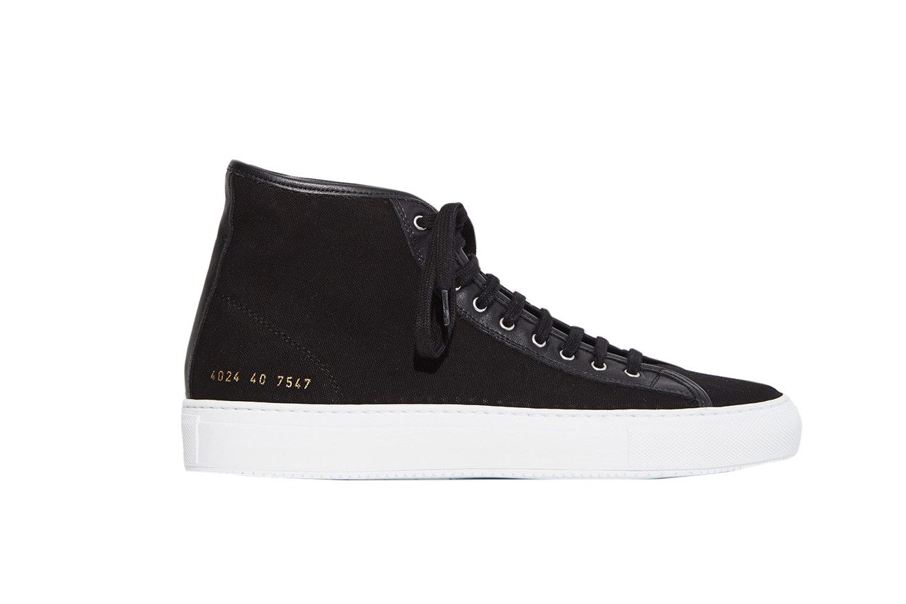 Woman by Common Projects Tournament Canvas High-Top Sneaker