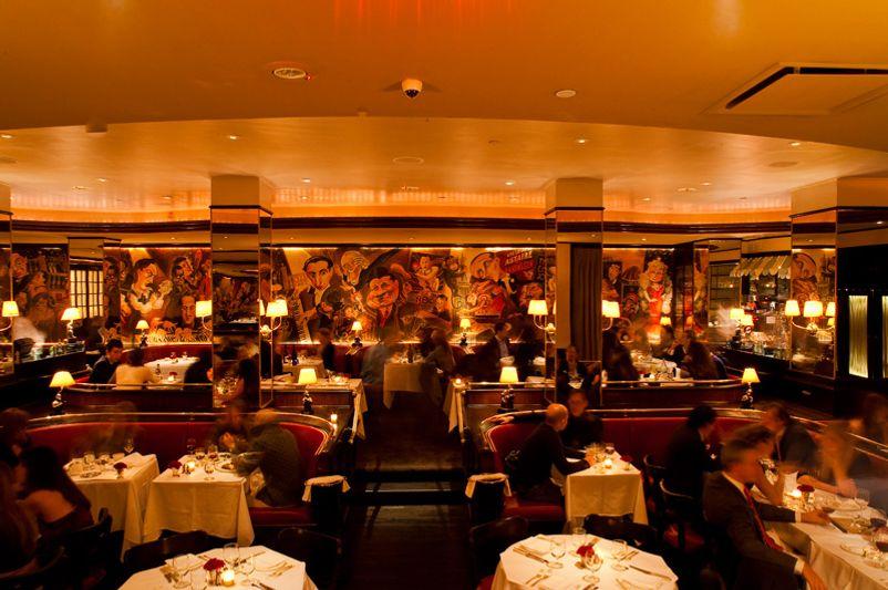Monkey Bar's dining room.
