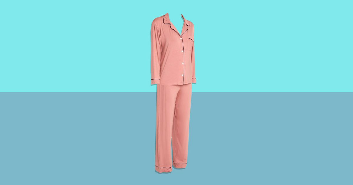 These Supersoft Pink Eberjey Pajamas Are 40 Percent Off at Saks