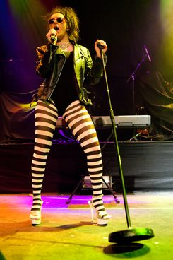 Charli XCX performs on stage at The Roundhouse on March 3, 2011 in London, England.