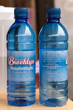 Not actual Brooklyn water.