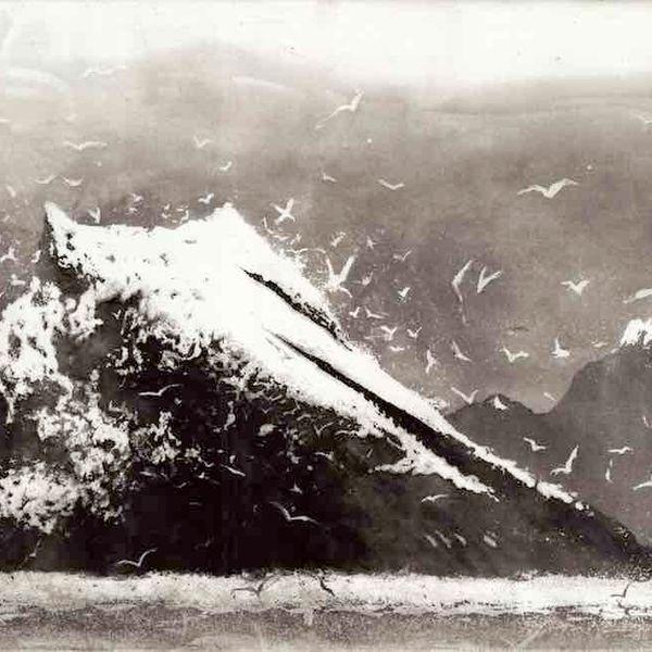 Norman Ackroyd: The Rumblings Muckle Flugga Shetland