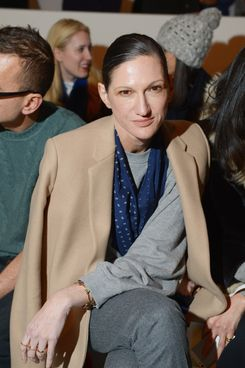 NEW YORK, NY - FEBRUARY 07:  J.Crew creative director Jenna Lyons attends the Suno fashion show at Center 548 on February 7, 2014 in New York City.  (Photo by Michael Loccisano/Getty Images)