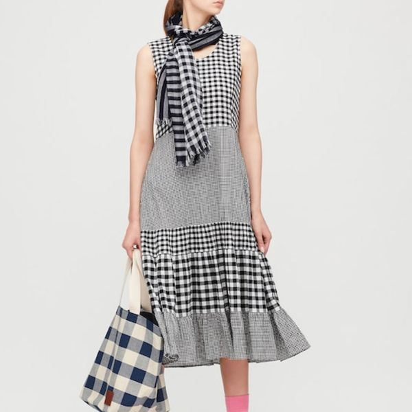 JW Anderson x Uniqlo Women's Tiered Sleeveless Dress