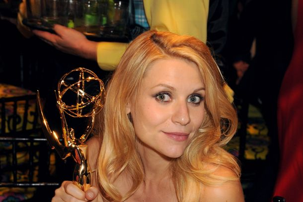 LOS ANGELES, CA - SEPTEMBER 23:  Actress Claire Danes attends HBO's Official Emmy After Party at The Plaza at the Pacific Design Center on September 23, 2012 in Los Angeles, California.  (Photo by Jeff Kravitz/FilmMagic)