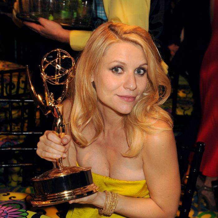 Actress Claire Danes attends HBO's Official Emmy After Party at The Plaza at the Pacific Design Center on September 23, 2012 in Los Angeles, California.