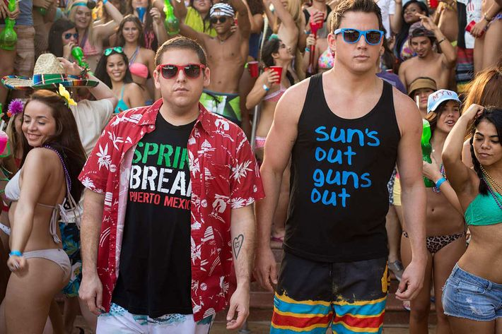 Jonah Hill and Channing Tatum.