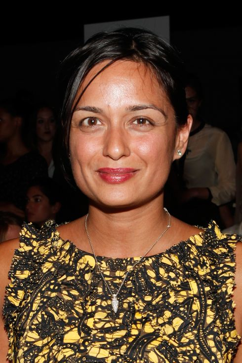Roopal Patel attends the Marc by Marc Jacobs Spring 2012 fashion show during Mercedes-Benz Fashion Week at N.Y. State Armory on September 12, 2011 in New York City.