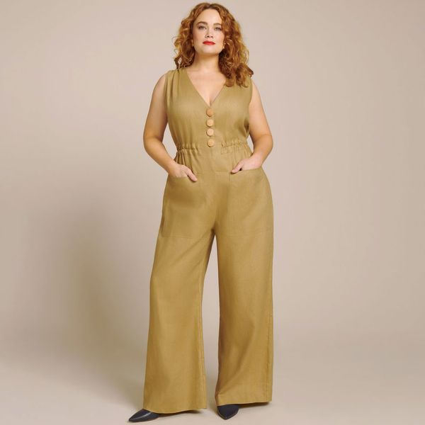 Nicholas Button Jumpsuit