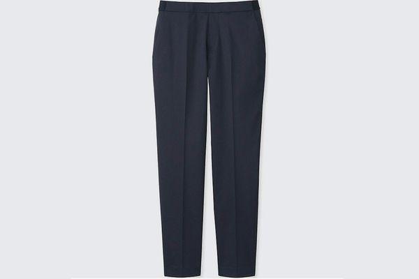 Uniqlo Satin Ankle-Length Pants
