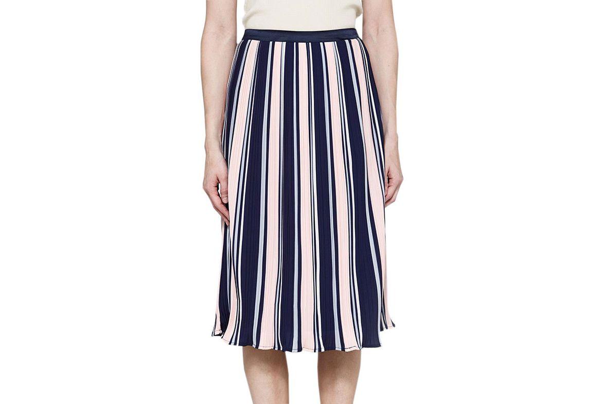 Farrow Val Pleated Skirt