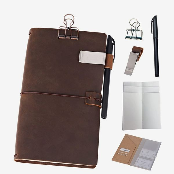 Newestor Refillable Leather Traveller's Notebook