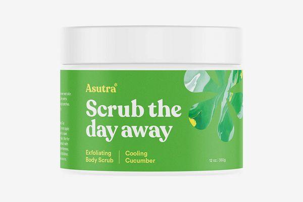 Asutra Organic Exfoliating Body Scrub in Cooling Cucumber