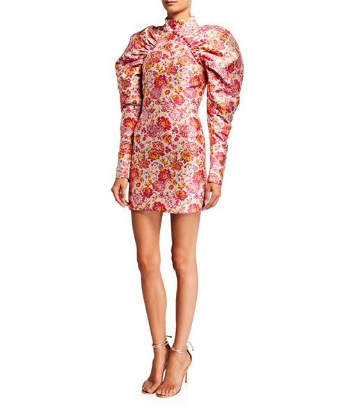 Number 1 Jacquard Dress