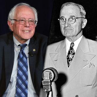 Bernie Sanders & Harry Truman