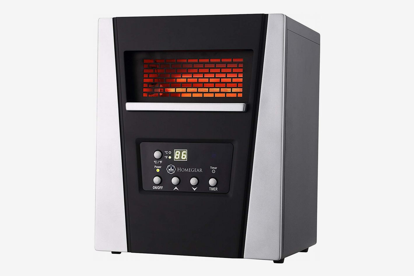 Homegear 1500 Sq Ft Infrared Portable E Heater At