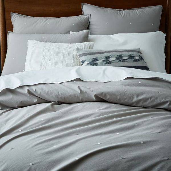 West Elm Organic Washed Cotton Duvet Cover