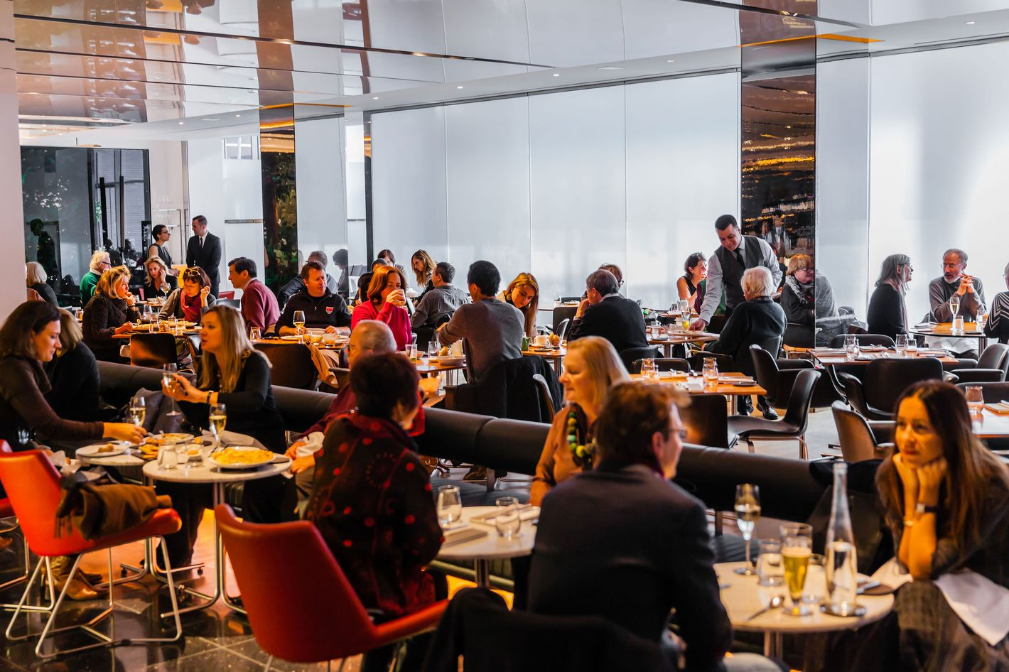 The Modern, the first Danny Meyer restaurant to nix tips.