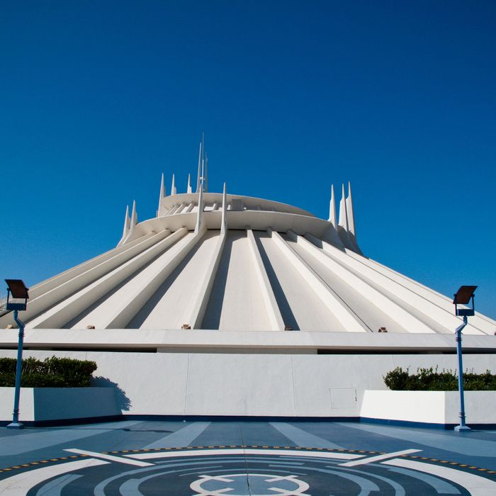 There is a Secret Mixtape for Disneyland's Space Mountain