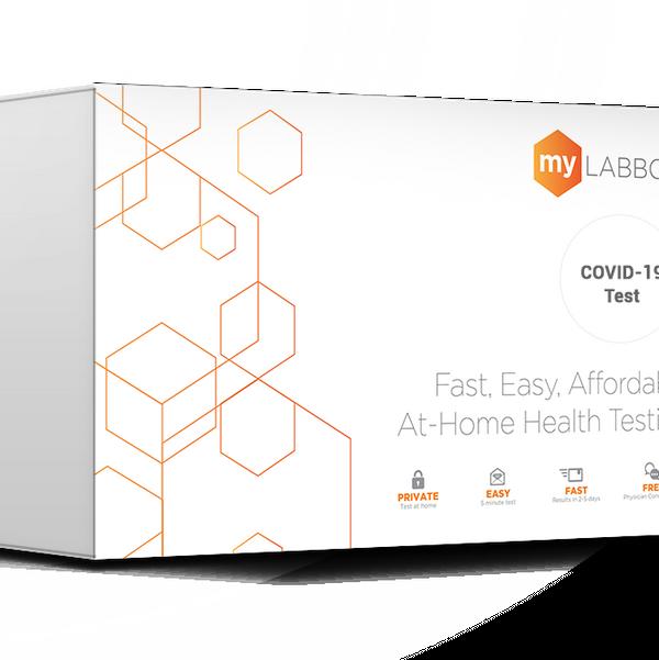 MyLAB Box At Home Coronavirus (COVID-19) Test – Nasal