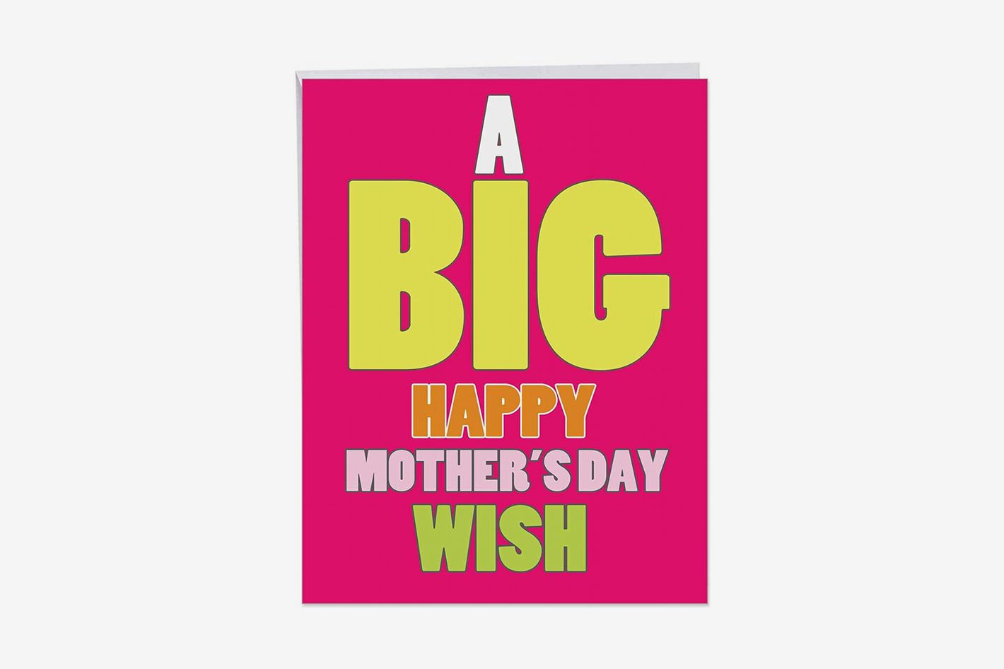 Big Mother's Day Wish Card