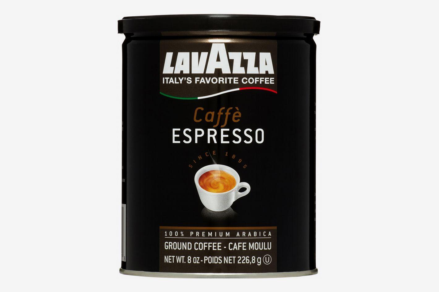 Lavazza Dark Roast Ground Espresso Coffee, 8 Oz