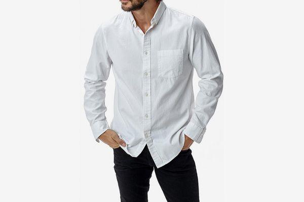 Buck Mason Perfect Oxford One Pocket Shirt