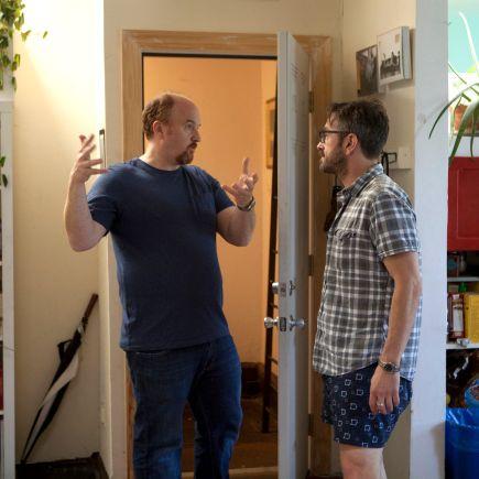 LOUIE: Episode 7: Ikea/Piano Lesson (Airs Thursday, August 9, 10:30 pm e/p). Pictured: L-R: Louis C.K. as Louie, Marc Maron as Marc.