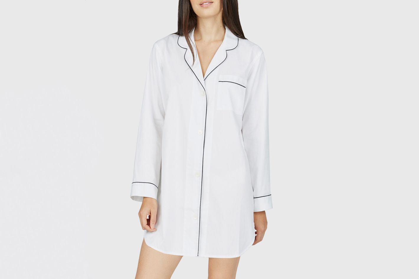 Everlane Oxford Pajama Tunic