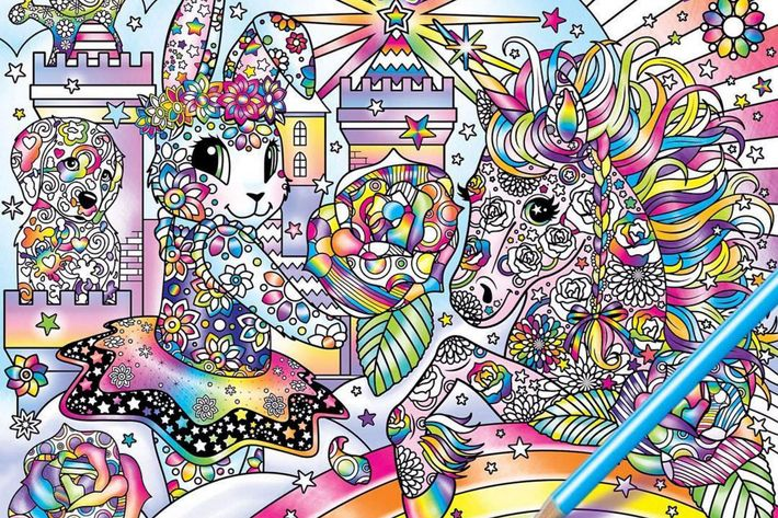 Lisa Frank \'90s Adult Coloring Book\' Wins Today\'s Internet Mad Libs