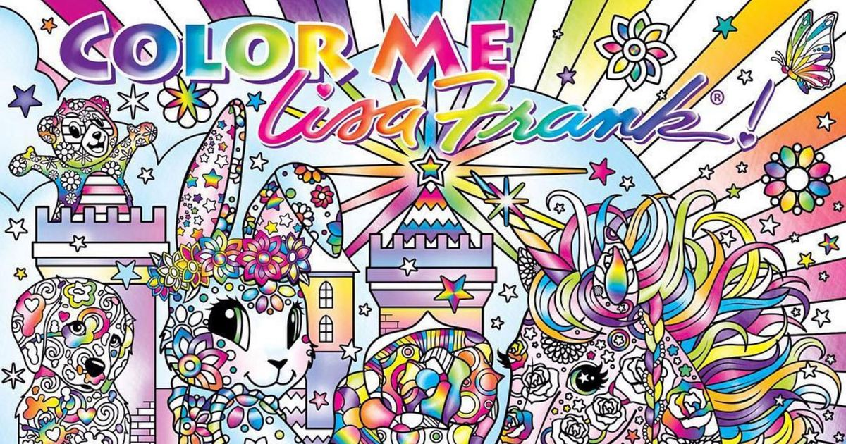 Lisa Frank 90s Adult Coloring Book Wins Todays Internet Mad Libs