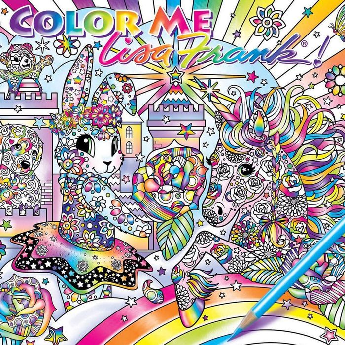 Capitalizing On The Burgeoning Coloring For Grown Ups Trend Lisa Frank Has Announced Its Releasing An Adult Book And People Are Thrilled