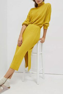 Saturday/Sunday Maria Ribbed Knit Maxi Dress