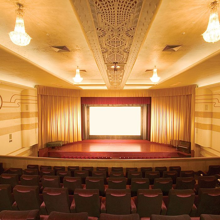 Vacant Movie Theater -