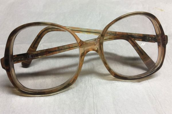 Etsy Vintage 1970s 103 OPTIQUE DuMONDE Rare Women's Oversized Rx Eyeglasses