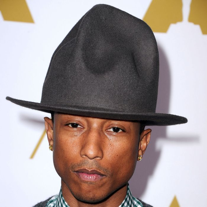 best authentic f4631 629c4 Pharrell Williams Says He s Not a Vampire, So Stop Looking Into That