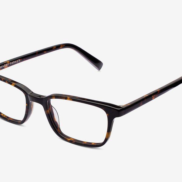 Warby Parker Oliver Eyeglasses in Whiskey Tortoise