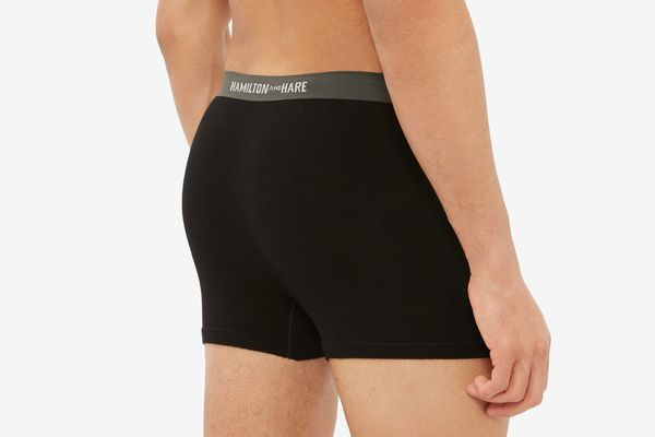 Hamilton and Hare Stretch- Jersey Boxer Briefs (Pack of 5)