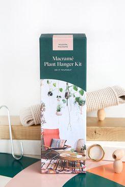 Modern Macramé DIY Plant Hanger Kit