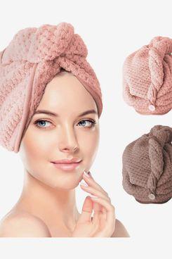 RenFox Hair Turban Towels