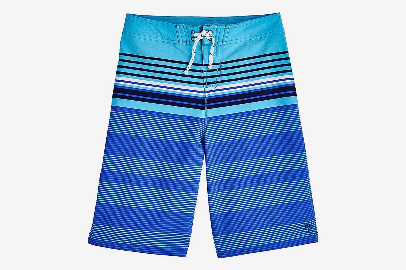 Coolibar UPF 50+ Boy's Superbank Board Shorts