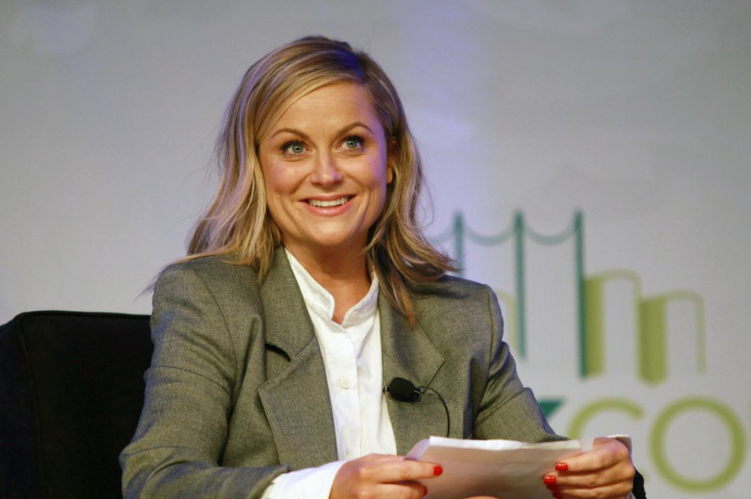 NEW YORK, NY - MAY 31: Amy Poehler attends day 3 of the 2014 Bookexpo America at The Jacob K. Javits Convention Center on May 31, 2014 in New York City.  (Photo by Steve Sands/WireImage)