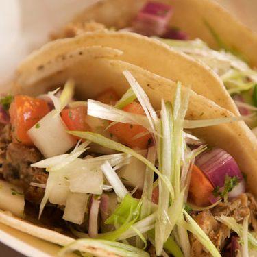 Mmm: Korean tacos from Kimchi Taco Truck.