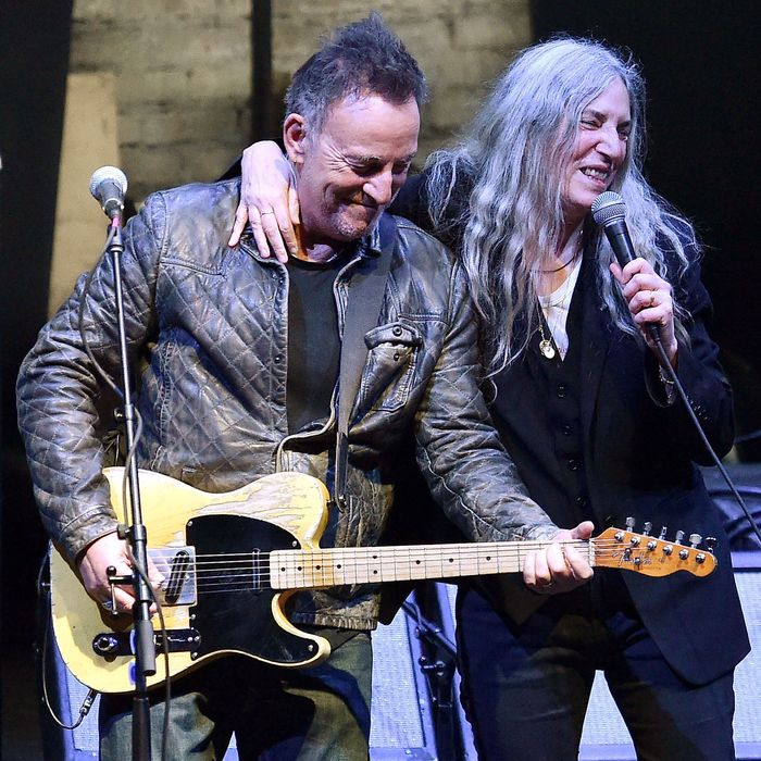 Patti Smith Brought Out Bruce Springsteen And Michael Stipe