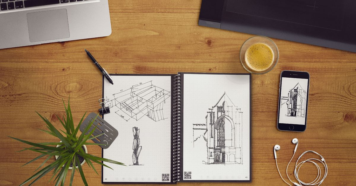 This Endlessly Reusable Notebook Turns My Doodles Into Emails