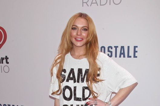 NEW YORK, NY - DECEMBER 13:  Actress Lindsay Lohan attends Z100's Jingle Ball 2013 at Madison Square Garden on December 13, 2013 in New York City.  (Photo by Jim Spellman/WireImage)