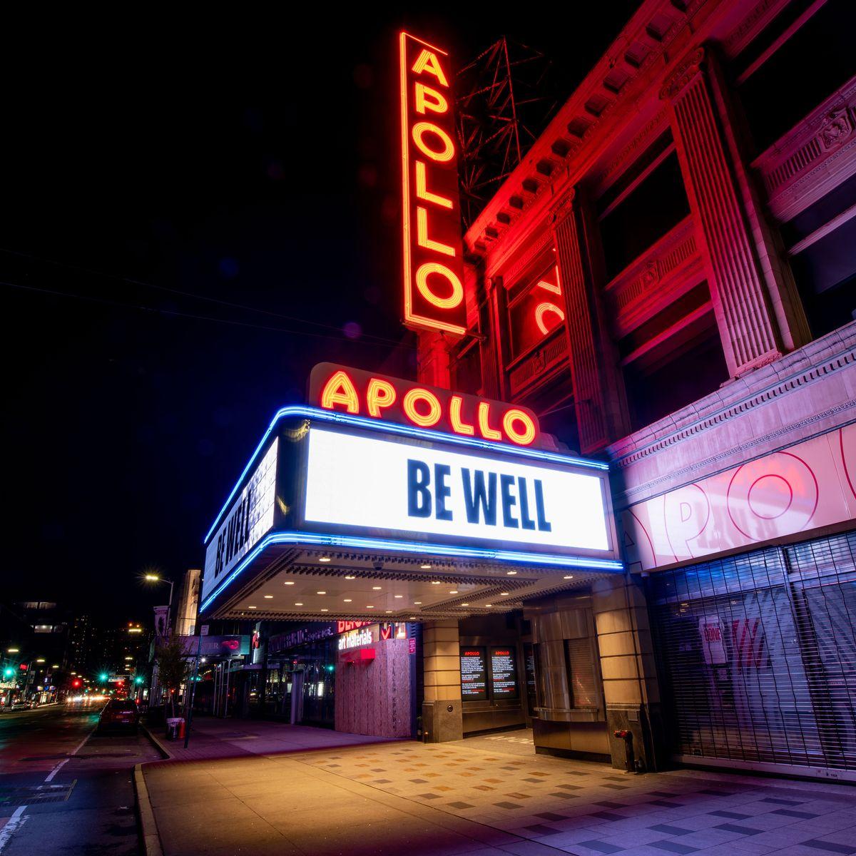 How the Apollo Theater Is Responding to Coronavirus Closure