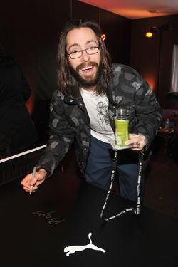 PARK CITY, UT - JANUARY 21:  Actor Martin Starr attends Day 2 of the Puma Social Lounge at T-Mobile Google Music Village at The Lift on January 21, 2012 in Park City, Utah.  (Photo by John Shearer/Getty Images for Best Events)