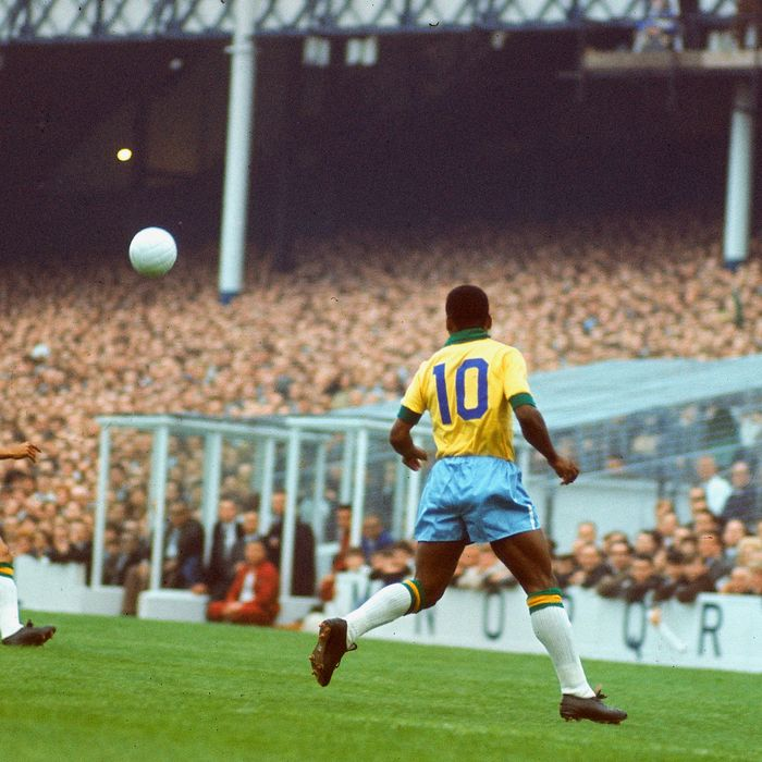 80176fa13 Pelé, the greatest, playing for Brazil — The Strategist rounds up the best  soccer